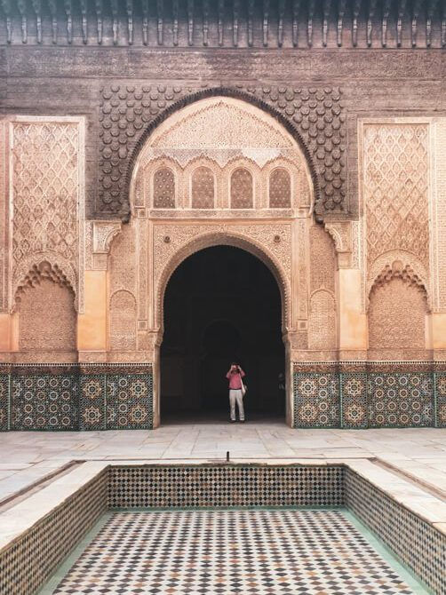 bahia palace visit marrakech