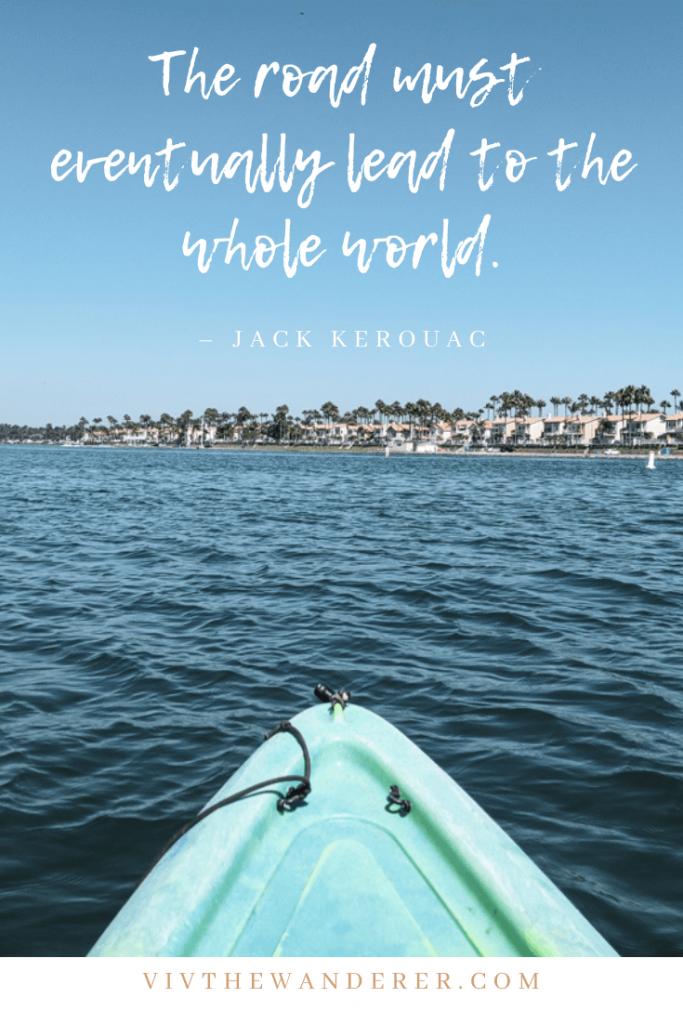 jack kerouac road trip quote
